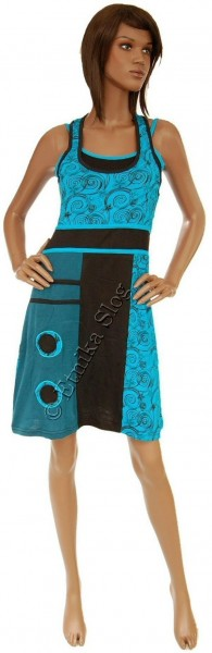 SHORT SLEEVE AND SLEEVELESS COTTON DRESSES AB-WSV09 - Oriente Import S.r.l.