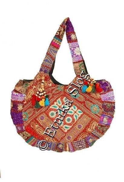 EMBROIDERED SHOULDER BAGS BS-IN62 - Oriente Import S.r.l.