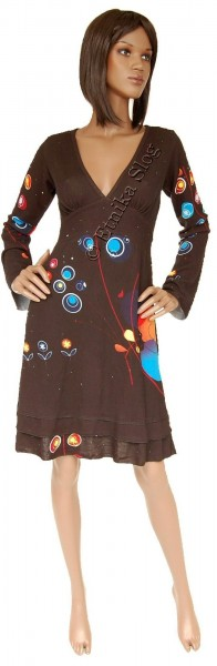 DRESSES - LONG SLEEVES - AUTUMN/WINTER AB-MRW118AF - Etnika Slog d.o.o.