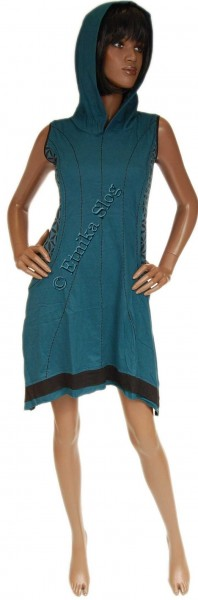 SHORT SLEEVE AND SLEEVELESS COTTON DRESSES AB-BSV21 - Oriente Import S.r.l.