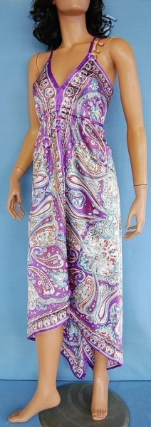 DRESS - SILK AB-AJV13-B - Oriente Import S.r.l.