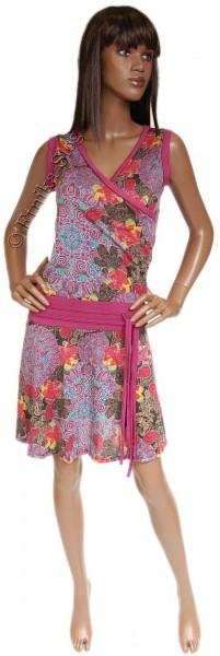 SUMMER JERSEY DRESSES WITH SHORT SLEEVES AB-MRS045CN - com Etnika Slog d.o.o.