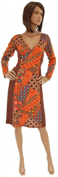 -20% DRESSES - LONG SLEEVES - AUTUMN/WINTER AB-BNV38D1 - Oriente Import S.r.l.