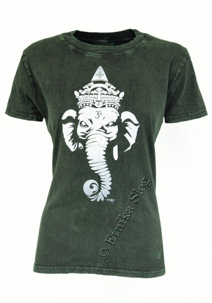 COTTON T-SHIRTS - STONEWASHED WITH PRINT AB-NPM03-04 - Oriente Import S.r.l.