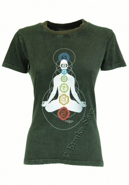 COTTON T-SHIRTS - STONEWASHED WITH PRINT AB-NPM03-05 - Oriente Import S.r.l.