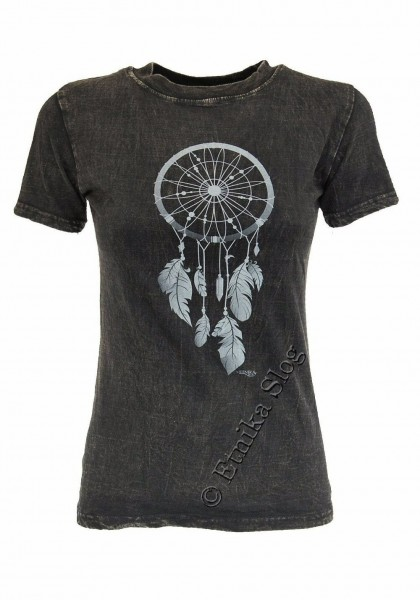 COTTON T-SHIRTS - STONEWASHED WITH PRINT AB-NPM03-08B - Oriente Import S.r.l.