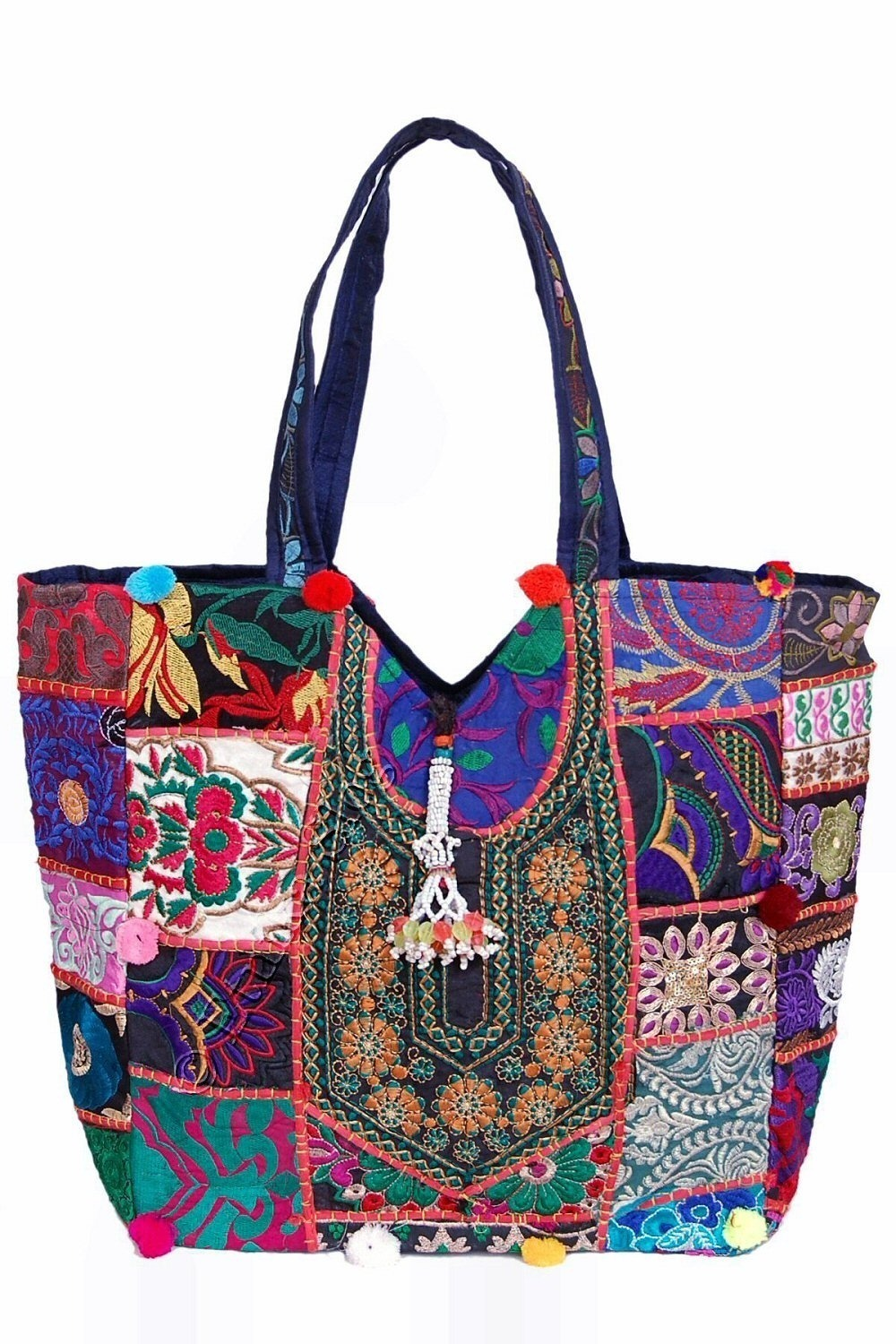 EMBROIDERED SHOULDER BAGS BS-IN65 - Oriente Import S.r.l.