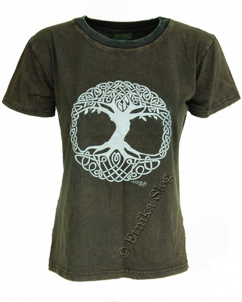 COTTON T-SHIRTS - STONEWASHED WITH PRINT AB-NPM03-10 - Oriente Import S.r.l.