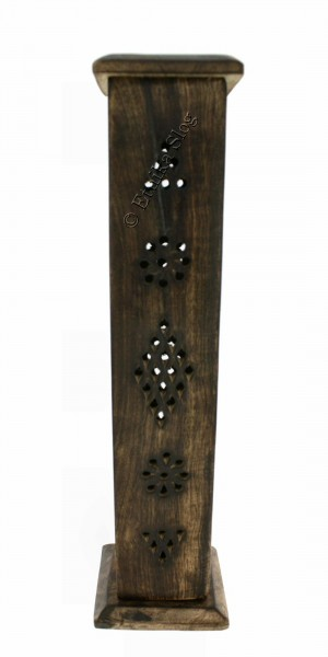 INCENSE HOLDER WOODEN COLUMN PI-BG40-01 - Oriente Import S.r.l.