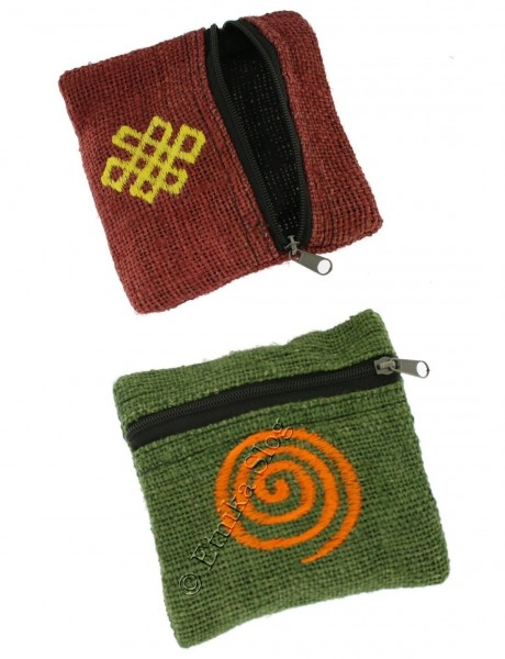 HEMP WALLETS, COIN PURSES CNP-PMP04 - Oriente Import S.r.l.