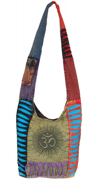 SHOULDER BAG - STONEWASH COTTON BS-NE05-01 - Oriente Import S.r.l.