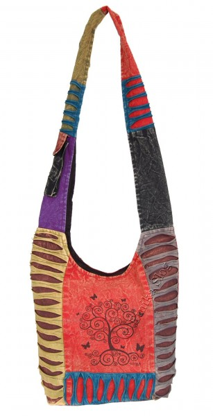 SHOULDER BAG - STONEWASH COTTON BS-NE05-12 - Oriente Import S.r.l.