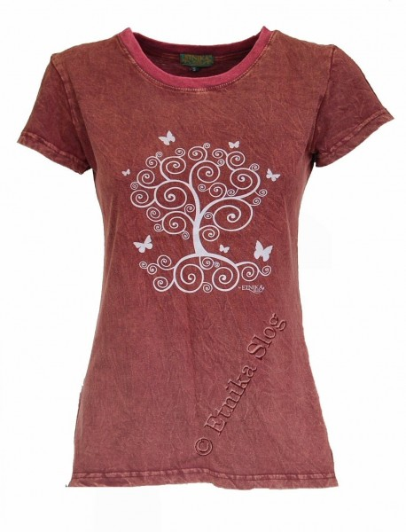 COTTON T-SHIRTS - STONEWASHED WITH PRINT AB-NPM03-12 - Oriente Import S.r.l.