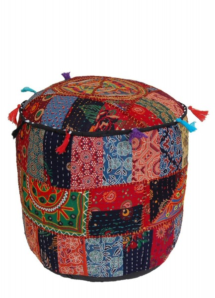 INDIAN PILLOWS POUF CS-GA03 - Oriente Import S.r.l.