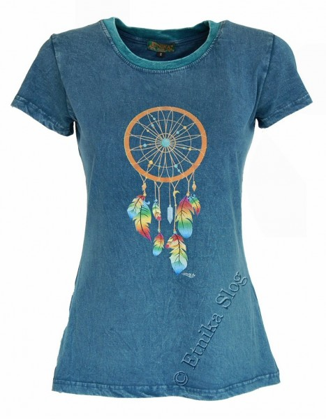 COTTON T-SHIRTS - STONEWASHED WITH PRINT AB-NPM03-08C - Oriente Import S.r.l.