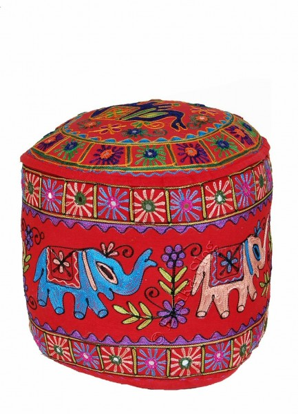 INDIAN PILLOWS POUF CS-GA04 - Oriente Import S.r.l.