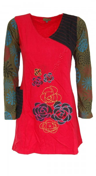 COTTON DRESSES - LONG SLEEVES AB-BWV10 - Oriente Import S.r.l.