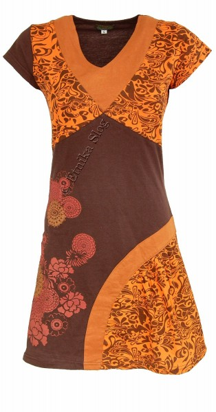 SHORT SLEEVE AND SLEEVELESS COTTON DRESSES AB-WSV04 - Oriente Import S.r.l.