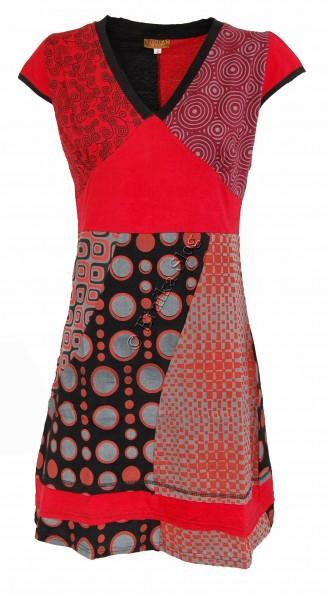 SHORT SLEEVE AND SLEEVELESS COTTON DRESSES AB-WSV06 - Etnika Slog d.o.o.