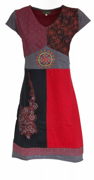 SHORT SLEEVE AND SLEEVELESS COTTON DRESSES AB-WSV03 - Oriente Import S.r.l.