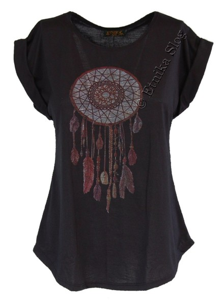 WOMEN T-SHIRT AND TOP WITH PRINTS AB-BCT08-07 - Oriente Import S.r.l.
