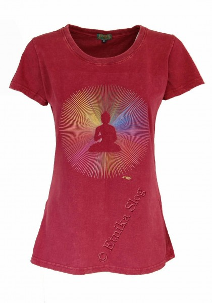 COTTON T-SHIRTS - STONEWASHED WITH PRINT AB-NPM03-16C - Oriente Import S.r.l.