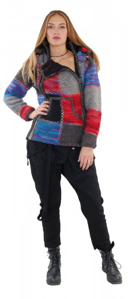 -10% WOOLEN JACKETS, PONCHOS AND SWEATERS AB-GL38 - Oriente Import S.r.l.