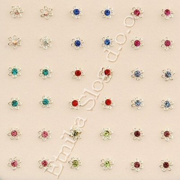 MINI EARRINGS AND NOSE RINGS - SEPTUM ARG-NAS13 - Oriente Import S.r.l.