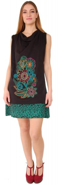 SHORT SLEEVE AND SLEEVELESS COTTON DRESSES AB-BSV37 - Oriente Import S.r.l.