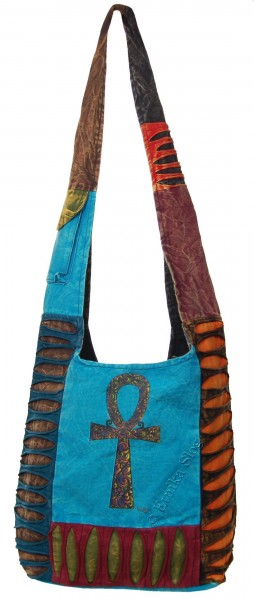 SHOULDER BAG - STONEWASH COTTON BS-NE05-27C - Oriente Import S.r.l.