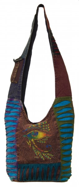 SHOULDER BAG - STONEWASH COTTON BS-NE05-28C - Oriente Import S.r.l.