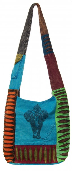 SHOULDER BAG - STONEWASH COTTON BS-NE05-31B - Oriente Import S.r.l.