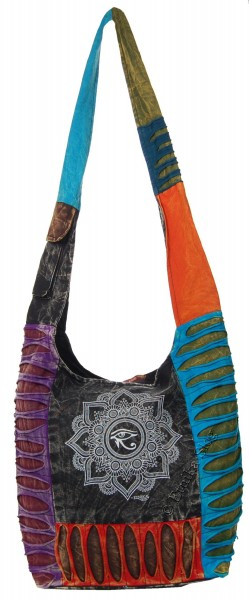 SHOULDER BAG - STONEWASH COTTON BS-NE05-30 - Oriente Import S.r.l.