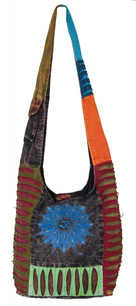 SHOULDER BAG - STONEWASH COTTON BS-NE05-36 - Oriente Import S.r.l.