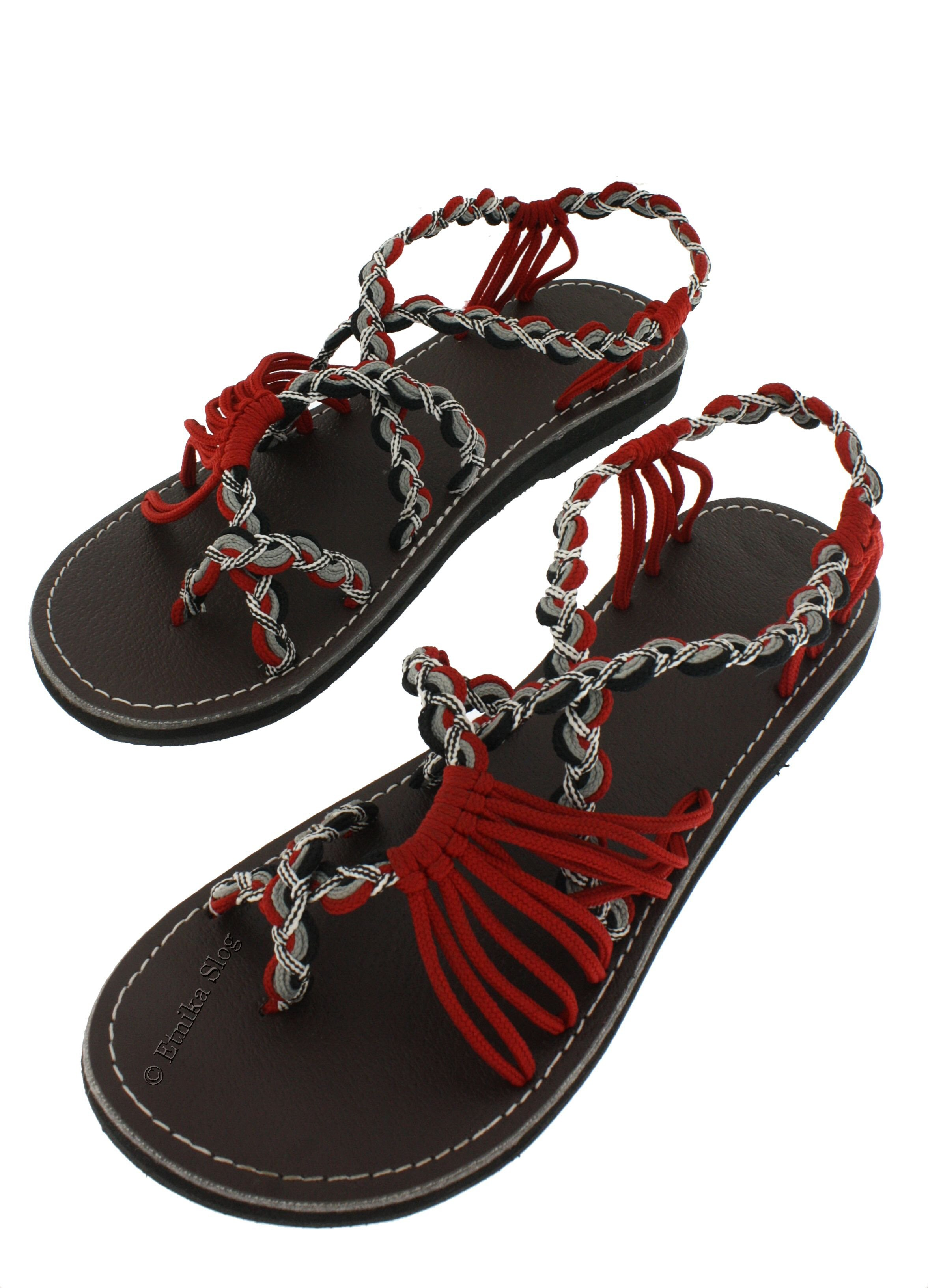 SANDALS IN LEATHER SN-AP05-RG - Etnika Slog d.o.o.