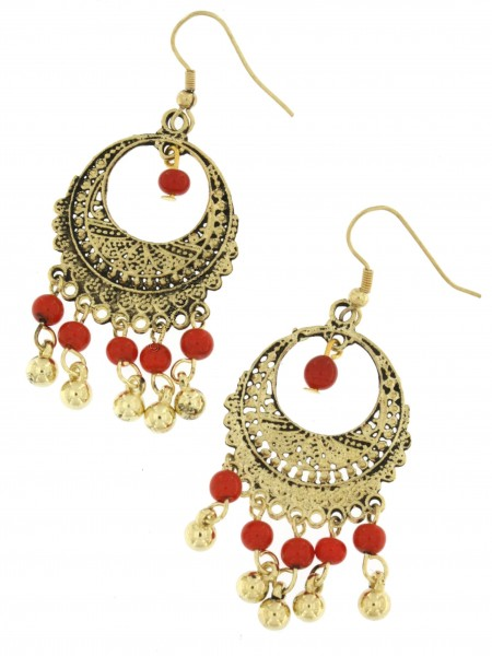 EARRINGS - METAL MB-OR200-18 - Oriente Import S.r.l.