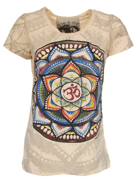 COTTON T-SHIRTS - STONEWASHED WITH PRINT AB-THM08-34 - Oriente Import S.r.l.