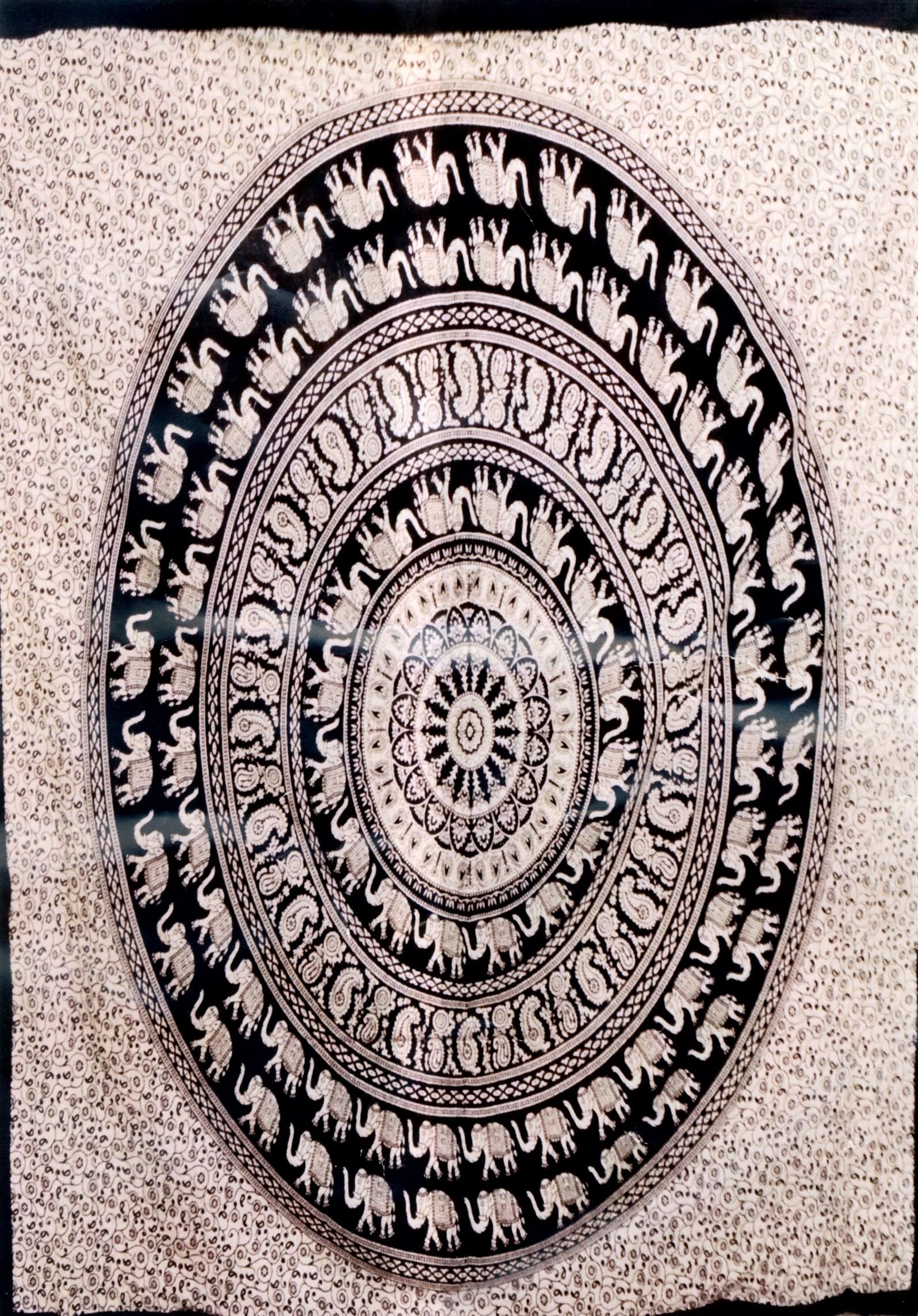KLEINE UND MITTEL INDIANER STOFFBAHN TI-P01-41 - Oriente Import S.r.l.