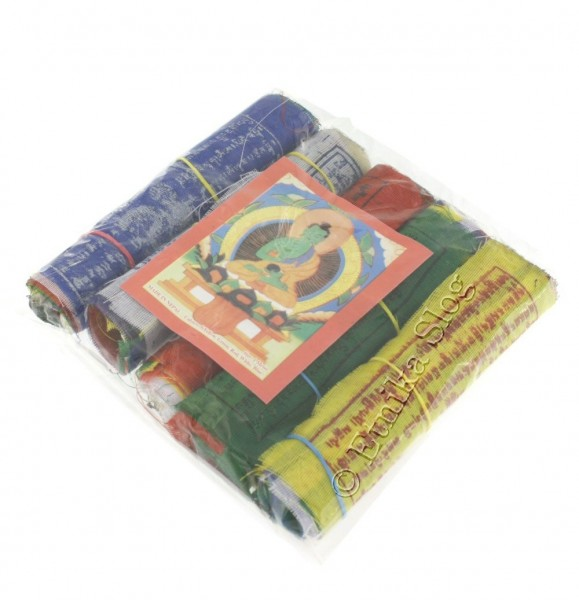 TIBETAN FLAGS AND DECORATIVE BANDS OG-BASET103 - Oriente Import S.r.l.