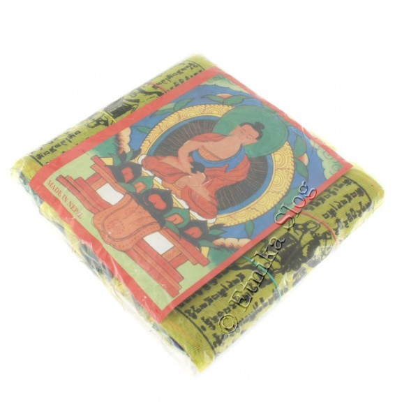 TIBETAN FLAGS AND DECORATIVE BANDS OG-BASET203 - Oriente Import S.r.l.
