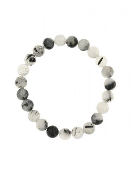 STONE BRACELET OF 8 - 10 mm - WITH ELASTIC PD-BR08-01 - Oriente Import S.r.l.
