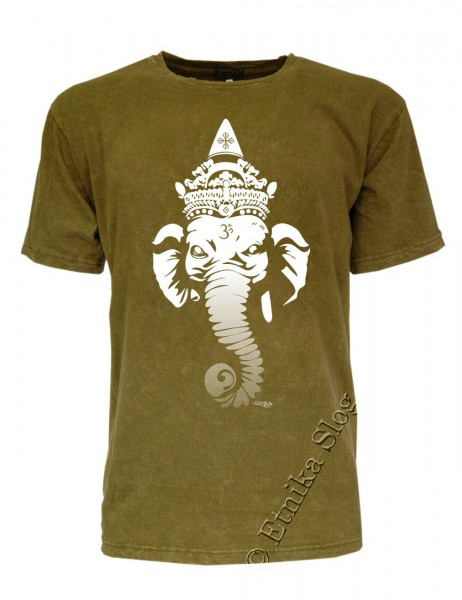 MEN'S COTTON T-SHIRT - STONEWASHED WITH PRINT AB-NPM02-04 - com Etnika Slog d.o.o.