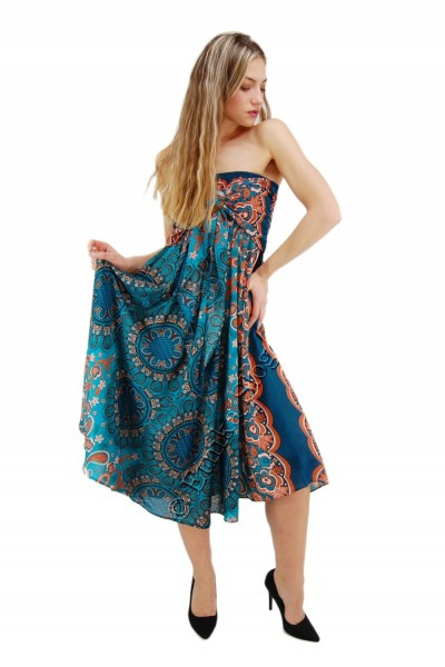 VISCOSE SUMMER DRESSES AB-BCK04CA-DRESS - Oriente Import S.r.l.