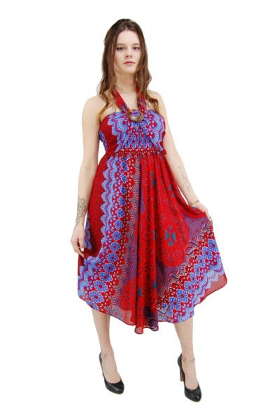 VISCOSE SUMMER DRESSES AB-BCK04CL-DRESS - Oriente Import S.r.l.
