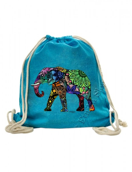 UNICOLOR BAGGY BACKPACKS WITH PRINTS BS-ZC36-13 - Oriente Import S.r.l.