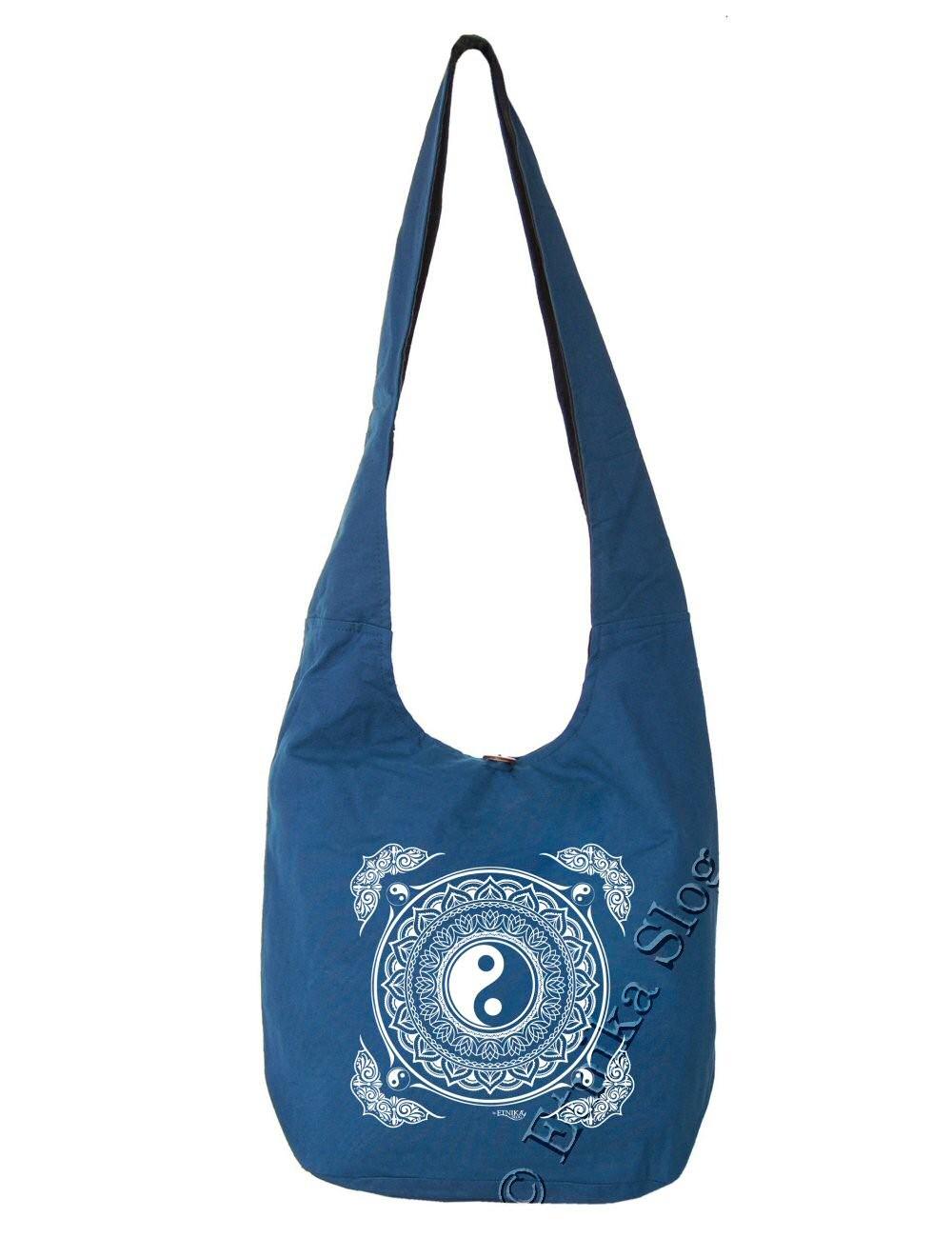 BAG SHOULDER BAG - COTTON PLAIN BS-NE06-20B - Oriente Import S.r.l.
