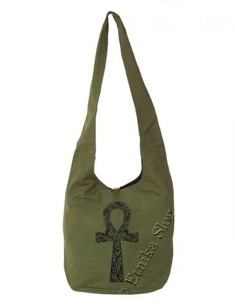 BAG SHOULDER BAG - COTTON PLAIN BS-NE06-27B - Oriente Import S.r.l.