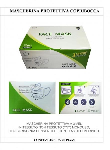 MASCHERINA COPRIBOCCA SC-MAS40-02 - Oriente Import S.r.l.