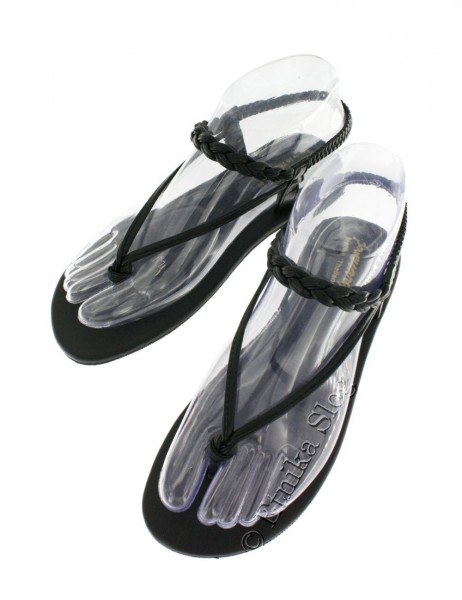 SANDALS AND MULES SN-AP10-NE2 - Oriente Import S.r.l.