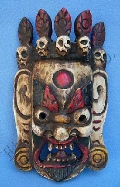 DECORATIVE MASKS MAS-LE02-1 - Oriente Import S.r.l.